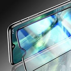 Nokia 7.2用強化ガラス フル液晶保護フィルム ノキア ブラック