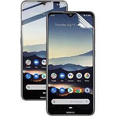 Nokia 7.2用高光沢 液晶保護フィルム フルカバレッジ画面 ノキア クリア