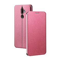 Nokia 7 Plus用手帳型 レザーケース スタンド ノキア レッド