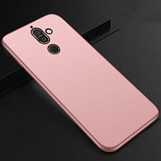 Nokia 7 Plus用極薄ソフトケース シリコンケース 耐衝撃 全面保護 S01 ノキア ローズゴールド