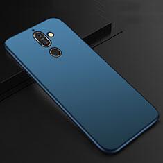 Nokia 7 Plus用極薄ソフトケース シリコンケース 耐衝撃 全面保護 S01 ノキア ネイビー