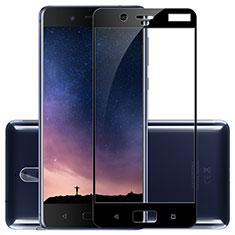 Nokia 8用強化ガラス フル液晶保護フィルム F02 ノキア ブラック