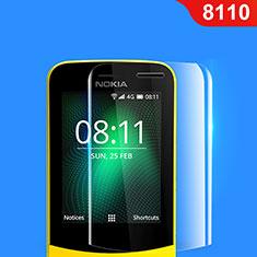 Nokia 8110 (2018)用強化ガラス 液晶保護フィルム ノキア クリア