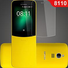 Nokia 8110 (2018)用強化ガラス 液晶保護フィルム T01 ノキア クリア