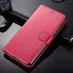 Nokia 9 PureView用手帳型 レザーケース スタンド ノキア レッド
