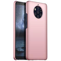 Nokia 9 PureView用ハードケース プラスチック 質感もマット M01 ノキア ローズゴールド