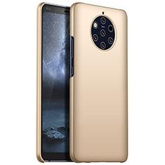 Nokia 9 PureView用ハードケース プラスチック 質感もマット M01 ノキア ゴールド