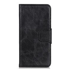 Nokia C1用手帳型 レザーケース スタンド カバー ノキア ブラック