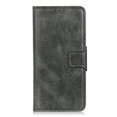 Nokia C1用手帳型 レザーケース スタンド カバー L02 ノキア グリーン