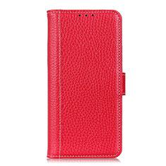 Nokia C1用手帳型 レザーケース スタンド カバー L03 ノキア レッド