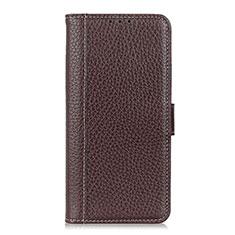 Nokia C1用手帳型 レザーケース スタンド カバー L03 ノキア ブラウン