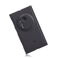 Nokia Lumia 1020用ハードケース プラスチック 質感もマット ノキア ブラック