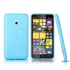 Nokia Lumia 1320用極薄ソフトケース シリコンケース 耐衝撃 全面保護 クリア透明 ノキア ネイビー