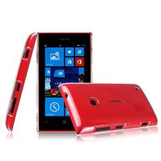 Nokia Lumia 525用ハードケース クリスタル クリア透明 ノキア クリア