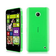 Nokia Lumia 630用ハードケース クリスタル クリア透明 ノキア クリア