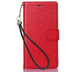 Nokia X3用手帳型 レザーケース スタンド ノキア レッド