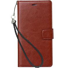 Nokia X3用手帳型 レザーケース スタンド ノキア ブラウン