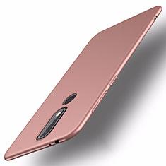 Nokia X5用ハードケース プラスチック 質感もマット M01 ノキア ローズゴールド