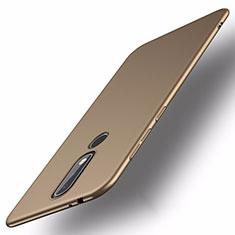 Nokia X5用ハードケース プラスチック 質感もマット M01 ノキア ゴールド