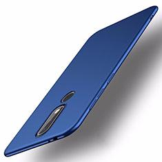 Nokia X5用ハードケース プラスチック 質感もマット M01 ノキア ネイビー