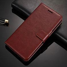 Nokia X6用手帳型 レザーケース スタンド L02 ノキア ブラウン