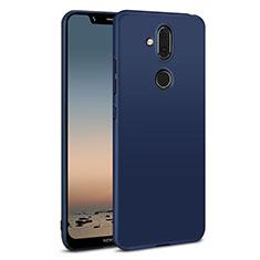 Nokia X7用ハードケース プラスチック 質感もマット M01 ノキア ネイビー