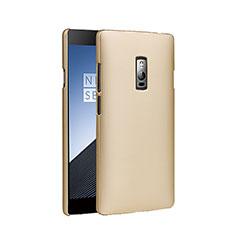 OnePlus 2用ハードケース プラスチック 質感もマット OnePlus ゴールド