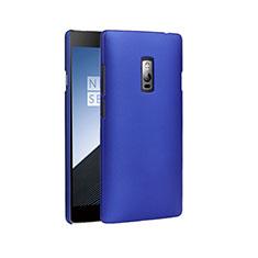 OnePlus 2用ハードケース プラスチック 質感もマット OnePlus ネイビー