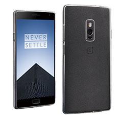 OnePlus 2用極薄ソフトケース シリコンケース 耐衝撃 全面保護 クリア透明 OnePlus クリア