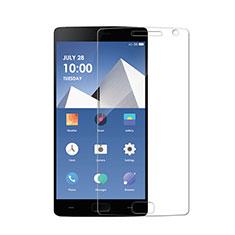 OnePlus 2用強化ガラス 液晶保護フィルム T02 OnePlus クリア