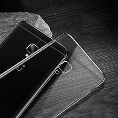 OnePlus 3用極薄ソフトケース シリコンケース 耐衝撃 全面保護 クリア透明 T04 OnePlus クリア