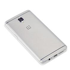 OnePlus 3用極薄ソフトケース シリコンケース 耐衝撃 全面保護 クリア透明 T07 OnePlus クリア
