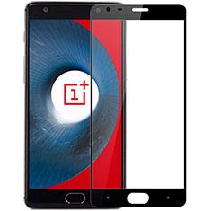 OnePlus 3用強化ガラス フル液晶保護フィルム OnePlus ブラック