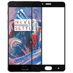 OnePlus 3用強化ガラス フル液晶保護フィルム F02 OnePlus ブラック