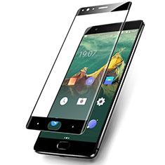 OnePlus 3用強化ガラス フル液晶保護フィルム F03 OnePlus ブラック