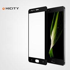 OnePlus 3用強化ガラス フル液晶保護フィルム F04 OnePlus ブラック