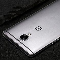 OnePlus 3T用極薄ソフトケース シリコンケース 耐衝撃 全面保護 クリア透明 T02 OnePlus クリア