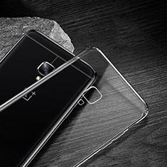 OnePlus 3T用極薄ソフトケース シリコンケース 耐衝撃 全面保護 クリア透明 T04 OnePlus クリア