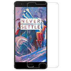 OnePlus 3T用強化ガラス 液晶保護フィルム T07 OnePlus クリア