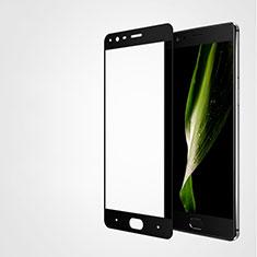 OnePlus 3T用強化ガラス フル液晶保護フィルム F04 OnePlus ブラック