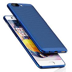 OnePlus 5用ハードケース プラスチック メッシュ デザイン OnePlus ネイビー