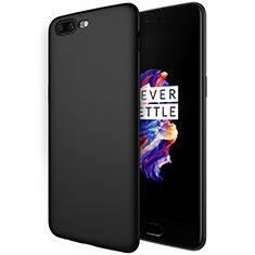 OnePlus 5用シリコンケース ソフトタッチラバー S01 OnePlus ブラック