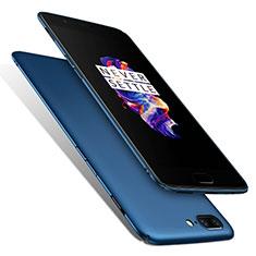 OnePlus 5用ハードケース プラスチック 質感もマット M01 OnePlus ネイビー