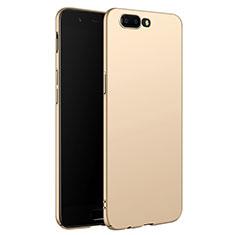 OnePlus 5用ハードケース プラスチック 質感もマット M06 OnePlus ゴールド