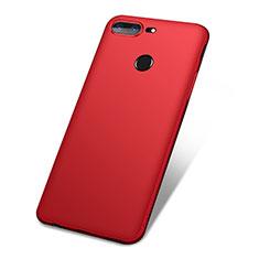 OnePlus 5T A5010用極薄ソフトケース シリコンケース 耐衝撃 全面保護 S01 OnePlus レッド