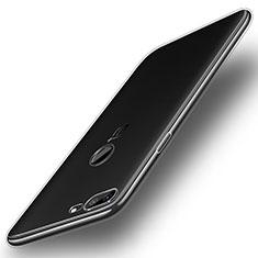 OnePlus 5T A5010用極薄ソフトケース シリコンケース 耐衝撃 全面保護 クリア透明 カバー OnePlus クリア