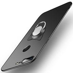 OnePlus 5T A5010用ハードケース プラスチック 質感もマット アンド指輪 OnePlus ブラック