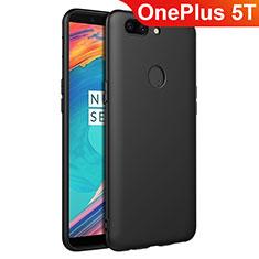 OnePlus 5T A5010用極薄ソフトケース シリコンケース 耐衝撃 全面保護 S02 OnePlus ブラック