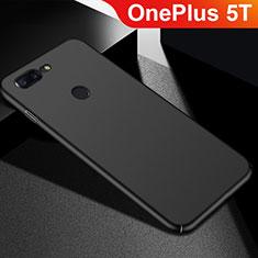OnePlus 5T A5010用ハードケース プラスチック 質感もマット M05 OnePlus ブラック