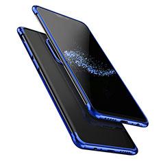 OnePlus 6用極薄ソフトケース シリコンケース 耐衝撃 全面保護 クリア透明 T02 OnePlus ネイビー